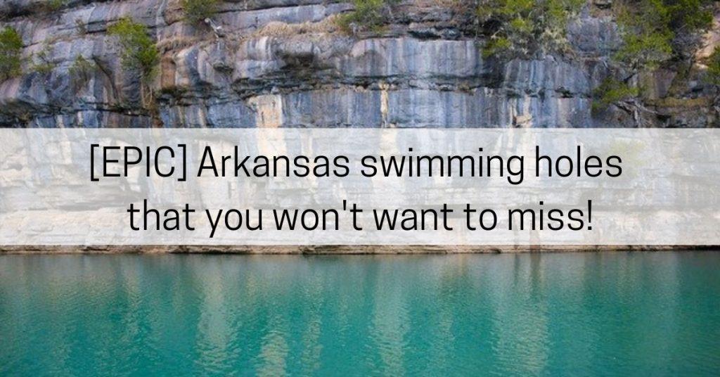 Arkansas swimming
