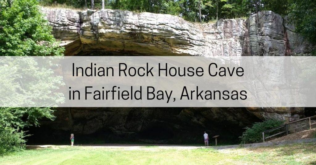 indian rock house cave ar