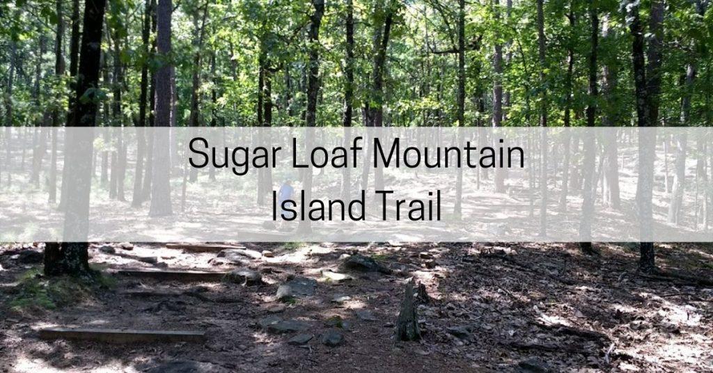 Sugar Loaf Mountain Island Trail AR